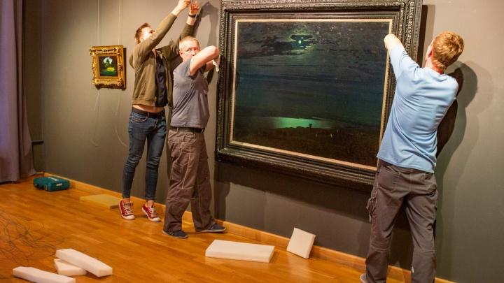 В Ярославль привезли знаменитые картины Куинджи: смотрим раньше, чем открылась выставка