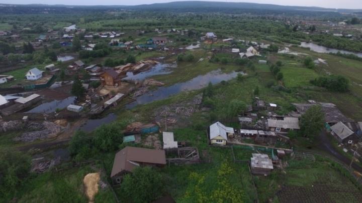 Река Бирюса вышла из берегов: людей на всякий случай эвакуируют