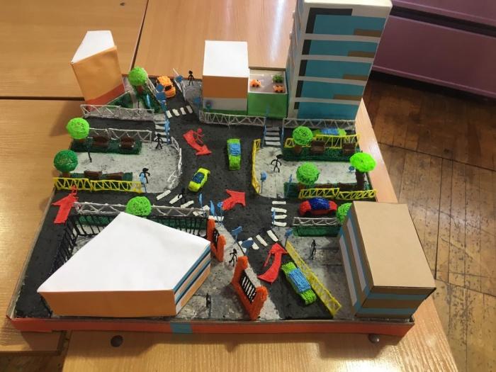 Макеты сделали с помощью3D-принтеров и 3D-ручек