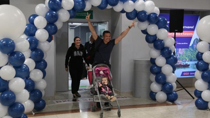 Аэропорт Уфа встретил трехмиллионного пассажира
