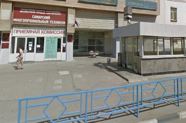 Доску установят на здании Самарского многопрофильного колледжа имени Валерия Бартенёва