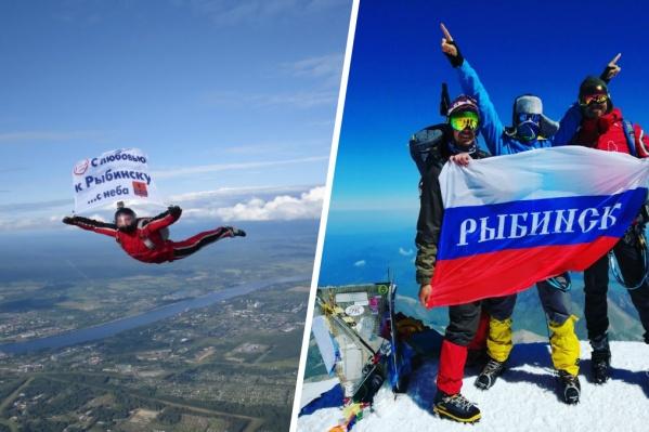 Верхушка Эльбруса —5642 метра над уровнем моря