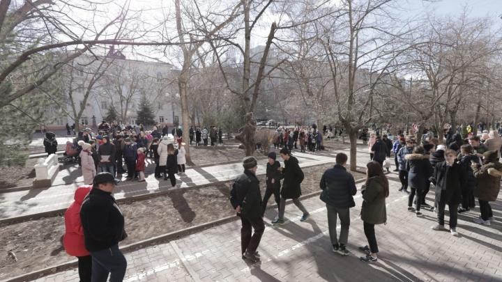 В Росгвардии волну эвакуаций на Дону связали с иностранным вмешательством
