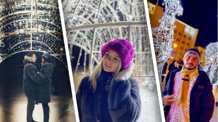 Статный олень и белая карета: смотрим снимки северян в самых зимних декорациях Архангельска