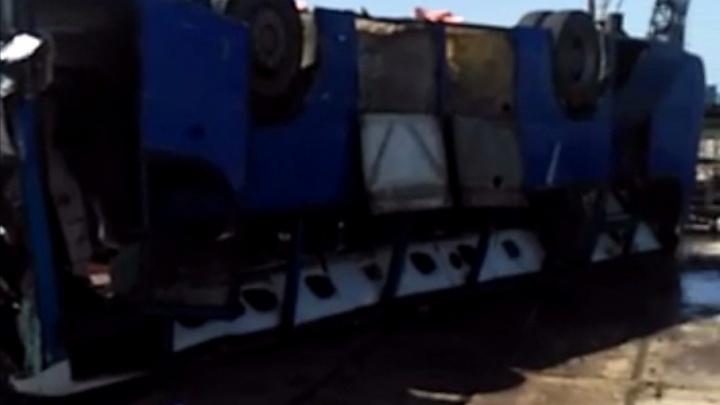 В трагедии с автобусом на Кубани есть пострадавший и погибший из Башкирии