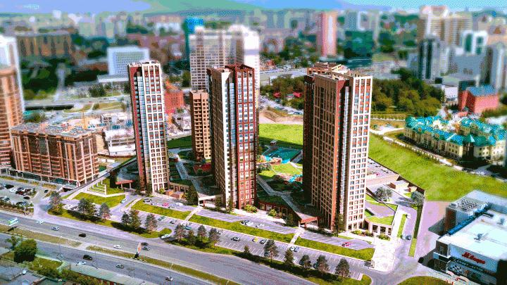 Ситихаусы, консьерж, помывочная, хайфлэты: около «Октябрьской» достраивают модный жилой комплекс