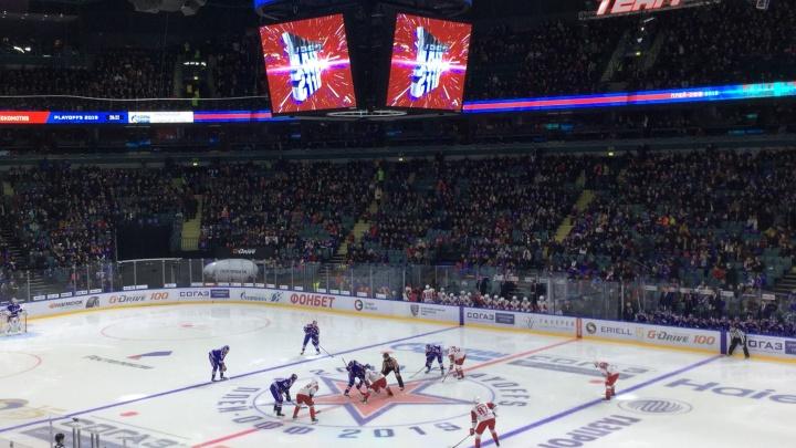 Счёт открыт. СКА обыграл «Локомотив» в матче плей-офф КХЛ. Хроника матча