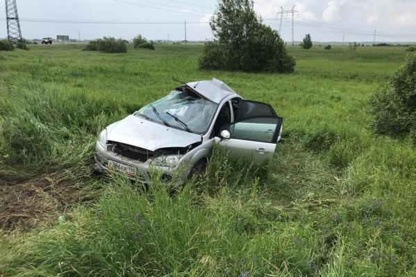 Авария произошла на трассе Тюмень — Вагай