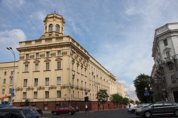 Здание на проспекте Независимости