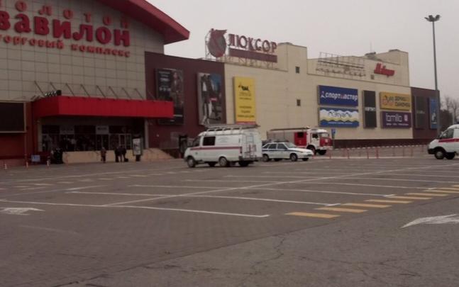 Ростовские ТЦ «РИО» и «Золотой Вавилон» оцепила полиция