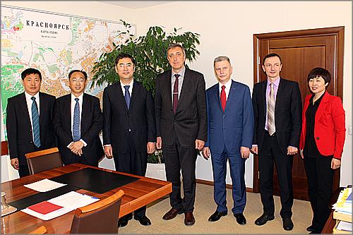 1-ый заместитель главы города Красноярска уходит вотставку