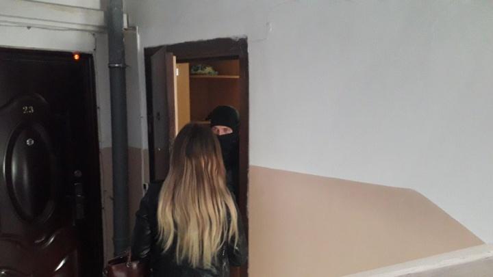 У координатора штаба Навального в Кургане проходят обыски