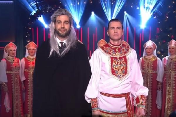 Иван Ургант решил появиться в образе Ведьмака