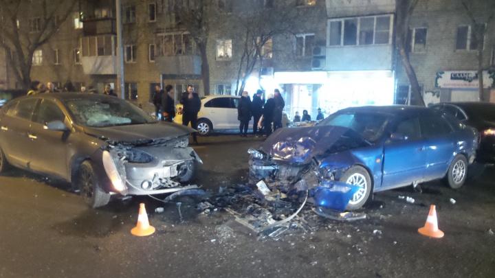 «Водитель хотел скрыться»: в Пионерском районе столкнулись несколько иномарок