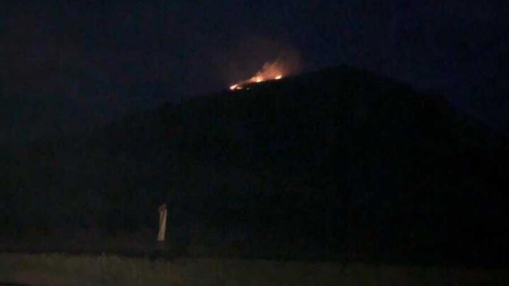 В Башкирии горит шихан Торатау