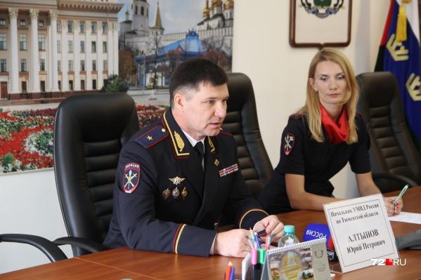 Обыски проходят не только в здании областной полиции, но и дома у Юрия Алтынова