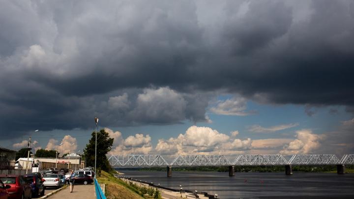 «Термическая неустойчивость и грозовые ливни»: в Ярославле резко испортится погода
