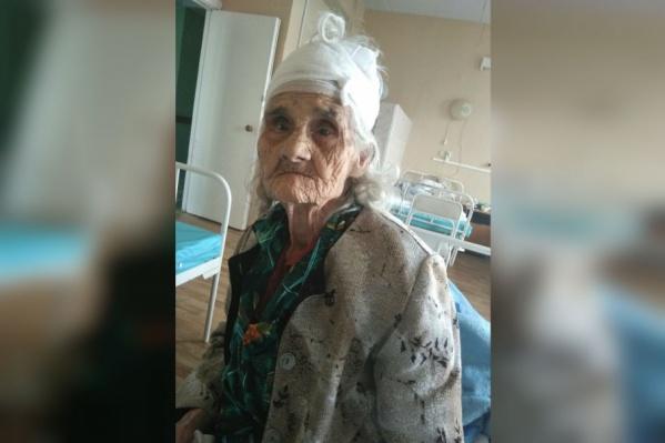 Пенсионерка находится в больнице