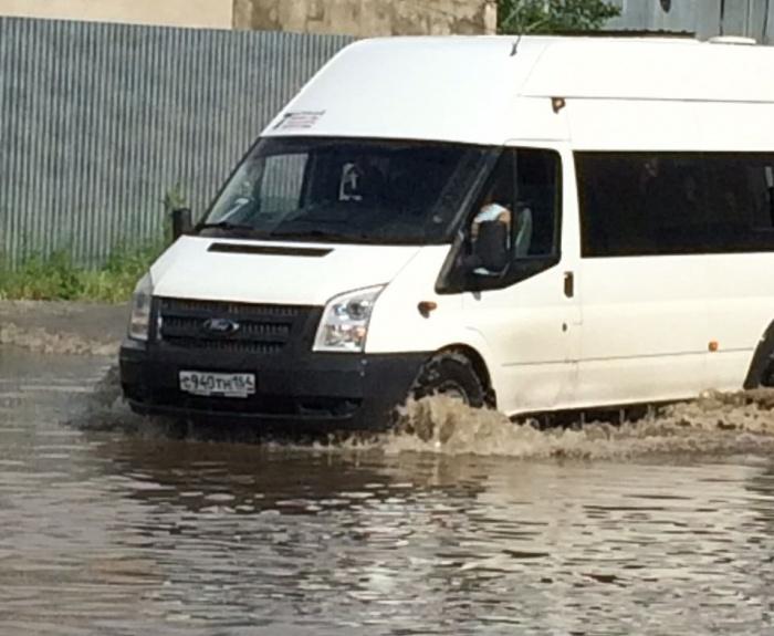 Последствия субботнего дождя в Академгородке
