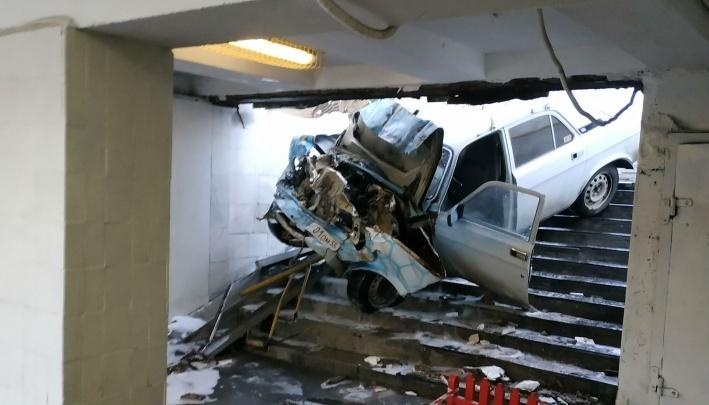 Водитель залетевшей в переход «Волги»:«Гаишники сказали — второй день рождения»