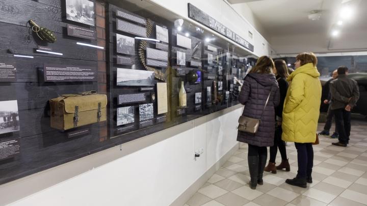 «Для гурманов военной истории»: в волгоградском музее открыли выставку об уличных боях в Сталинграде