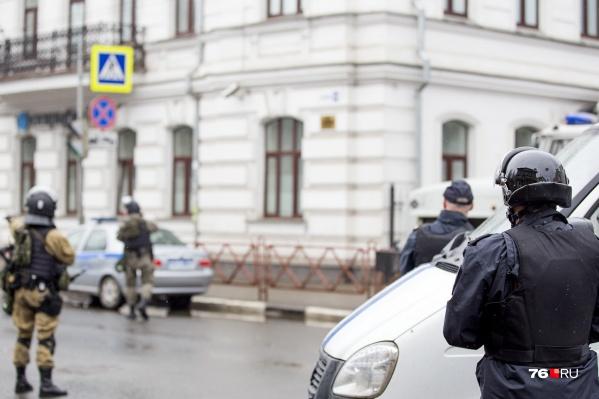 Преступников брали сотрудники ФСБ