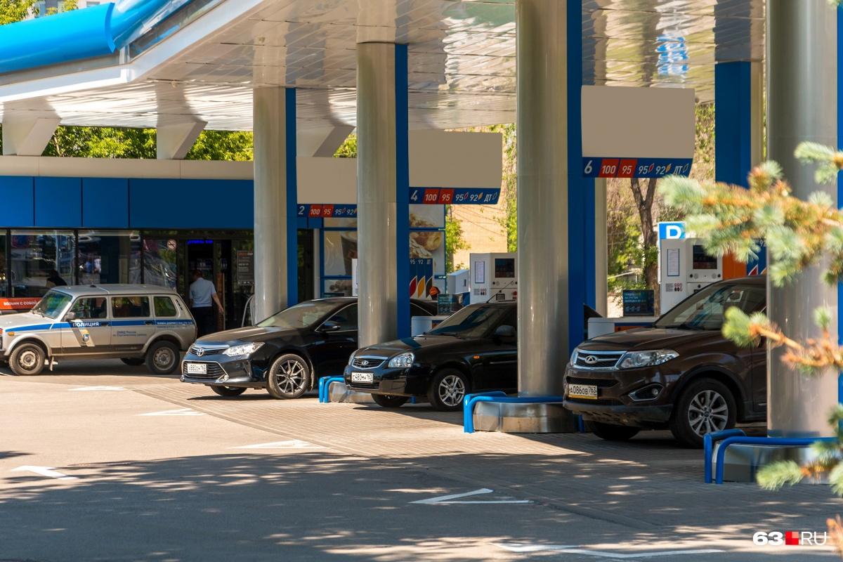 Цены на топливо в регионе стабильно растут