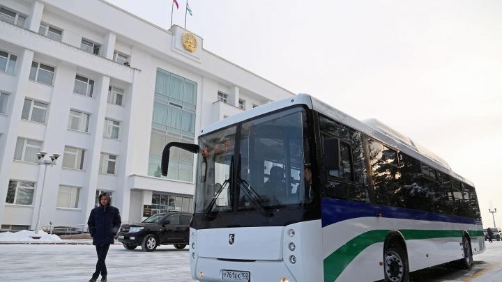 В Башкирии проезд в автобусах пассажиры будут оплачивать на входе