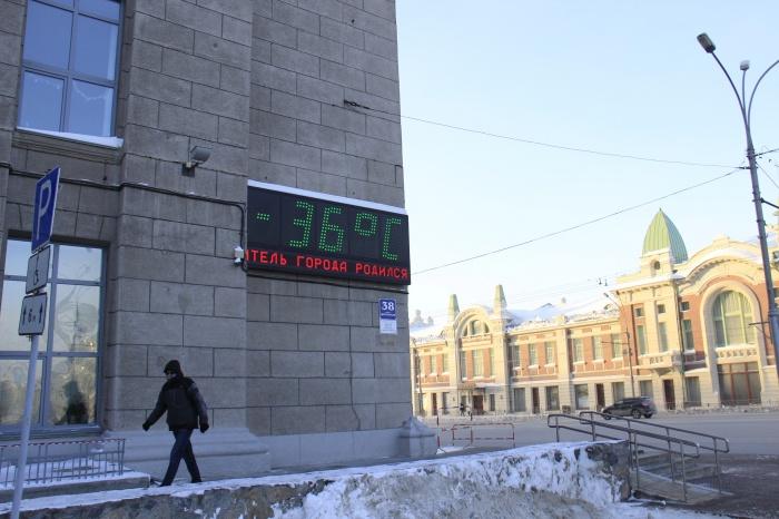 Новосибирец остался с холодными батареями в –36