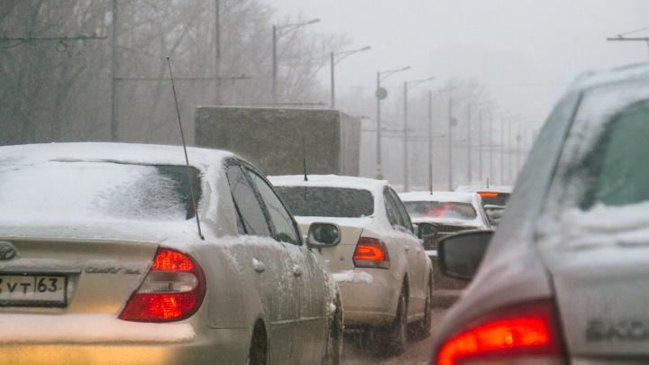 В Самарской области восстановили движение по трассе М-5