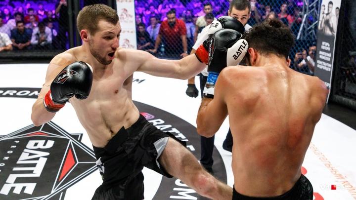 Лучшие кикбоксеры со всего мира устроили битву в волгоградской «клетке»: смотрим фото