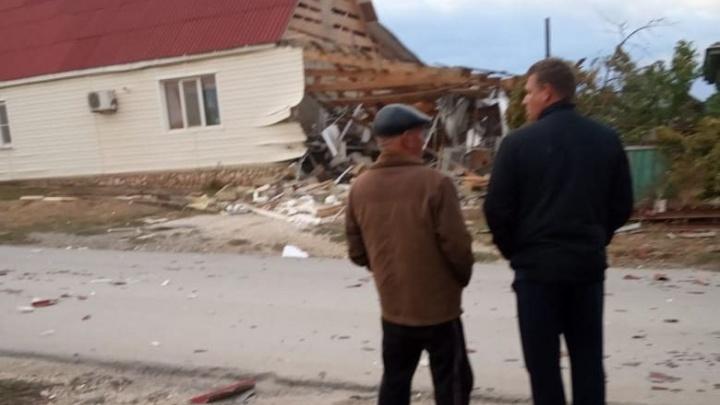 Разнесло на куски: в Волгоградской области взорвалась пристройка к дому