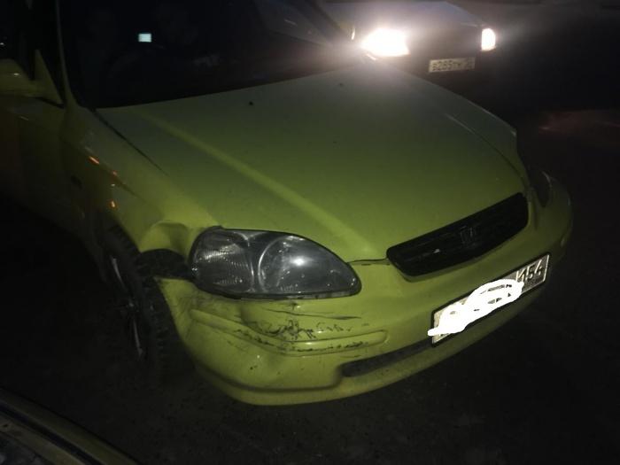 По словам аварийного комиссара, водитель «Хонды» только купил автомобиль