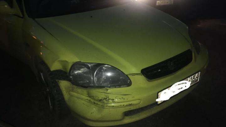 Столкнулись в центре города: ДТП произошло из-за плохого обзора дороги