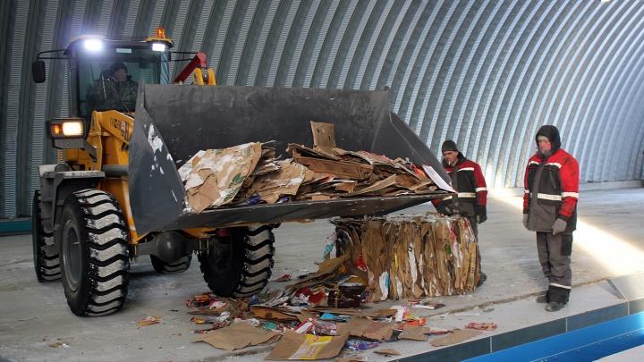 «Отходов хватит на всех!»: в Омскепостроили первый мусоросортировочный завод