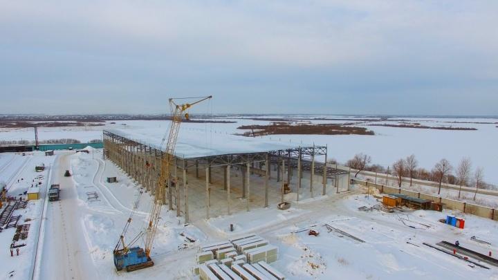 Строители Тюмени запускают новое производство