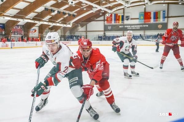 Ростовчане достойно выглядели на фоне одной из сильнейших команд лиги