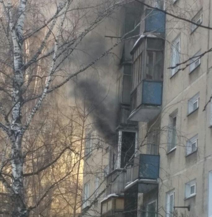 Дом  № 31  на улице Селезнёва загорелся утром 3 февраля