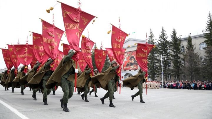 9 мая курганцев удивят техникой времен войны и флешмобами