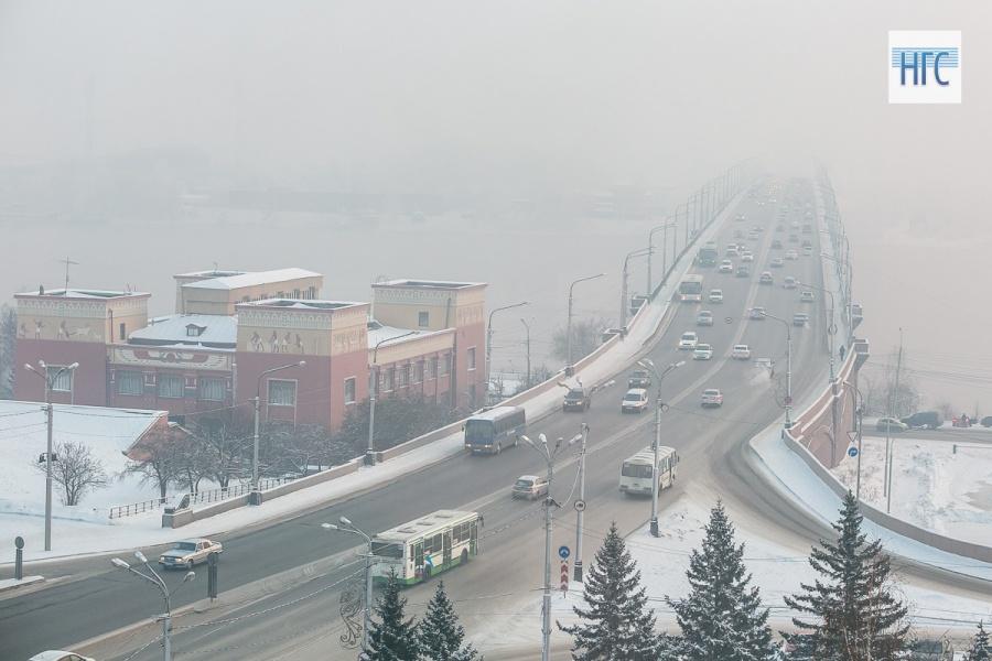 Нарушение выбросов впериод «чёрного неба» выявлено у10 красноярских учреждений