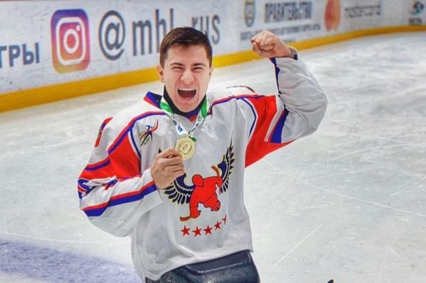 Рустам Набиев не так давно радовался золотой медали