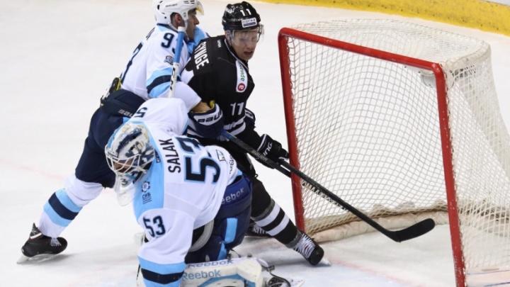 Победный состав не помог «Трактору» одолеть хоккеистов «Сибири»