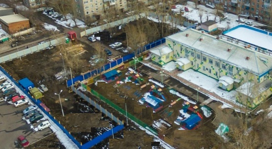 Строителям разрешили строить дом вплотную с детсадом на правобережье Красноярска