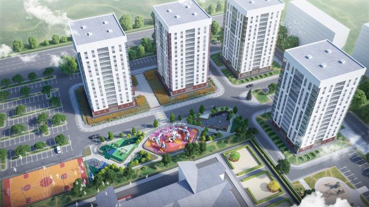 За лето 15 этажей: тюменцы могут наблюдать, как на их глазах появляется жилой комплекс