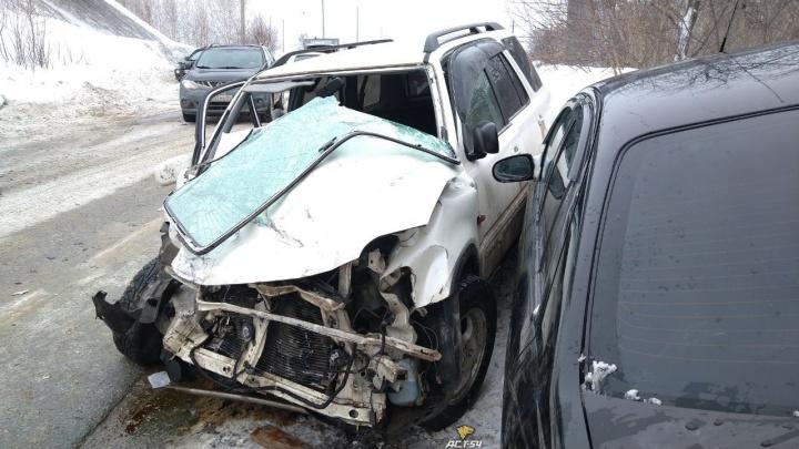 «Дикий удар, и нас унесло в сугроб»: пассажирка маршрутки рассказала об аварии на Пашинском шоссе