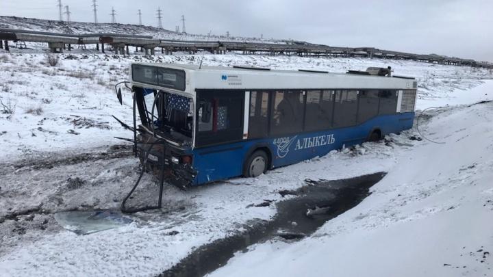 ДТП с автобусом в Норильске: пострадавшие — работники аэропорта