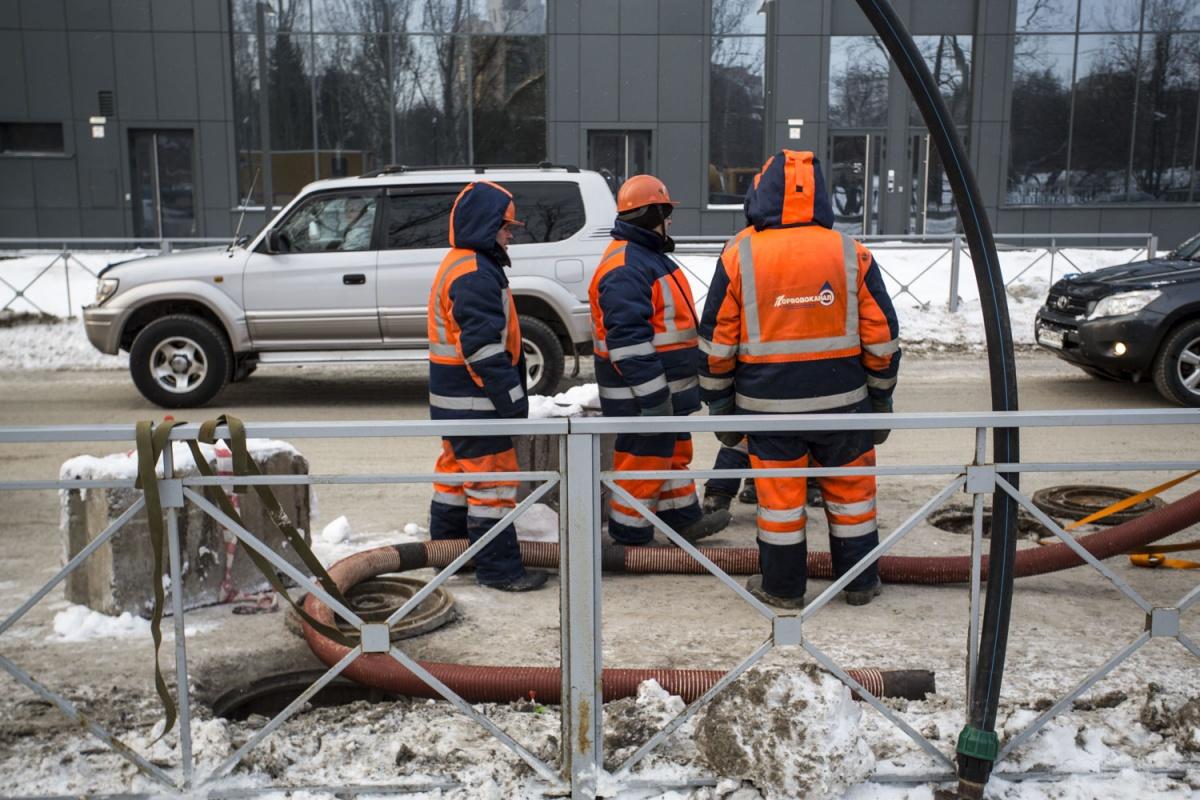 Ремонт на проспекте Дзержинского будет идти до 10 марта