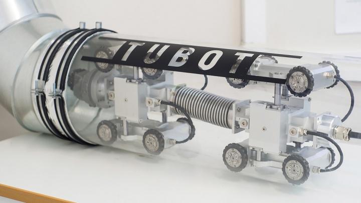 Новосибирская компания выпустит немецких роботов для проверки нефтепроводов