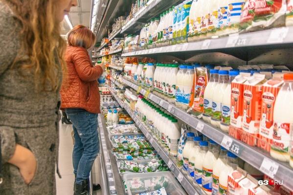 Молочку поставляли в магазины региона