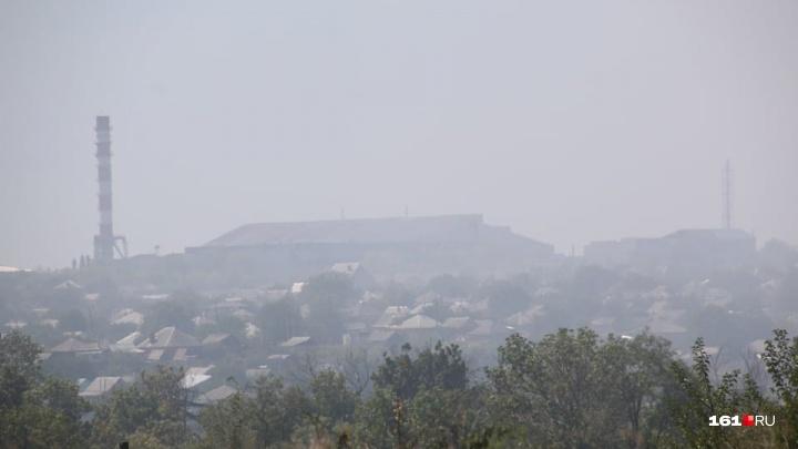 «Просто жесть»: жители Красного Сулина жалуются на дым от сгоревшей свалки